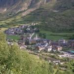 Espot, pueblo de los pirineos