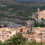 Alquézar en la provincia de Huesca
