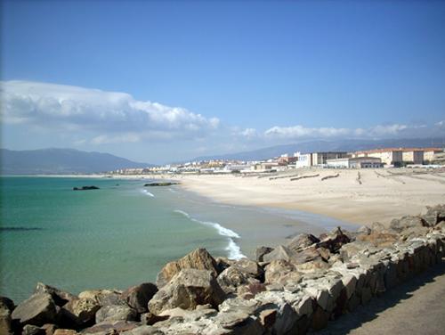 La localidad de Tarifa en al costa de Cádiz, pueblo