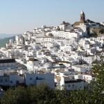 Alcalá de los Gazules en la Sierra de Cádiz