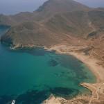 La localidad de Rodalquilar en Almería