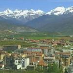 Sabiñanigo en el Prepirineo aragonés