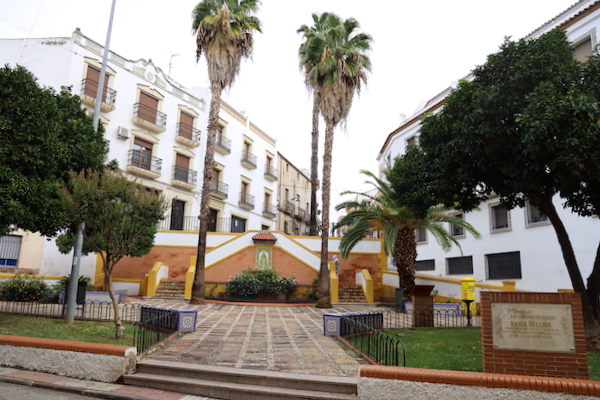 Glorieta Virgen de Zoueca Bailén - Jaén