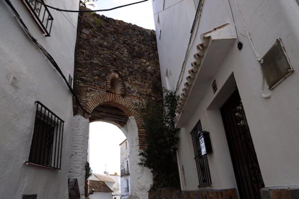 Puerta Calle Arrabal Casares - Málaga