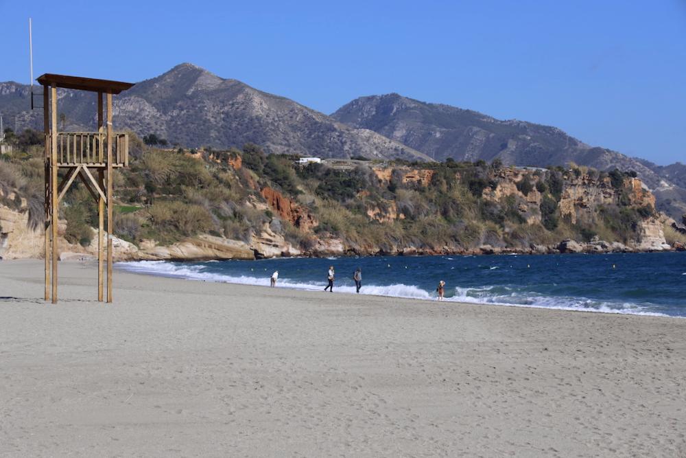 Playa Burriana Nerja - Málaga