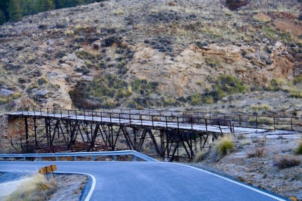 Vías Verdes del Hierro Serón - Almería