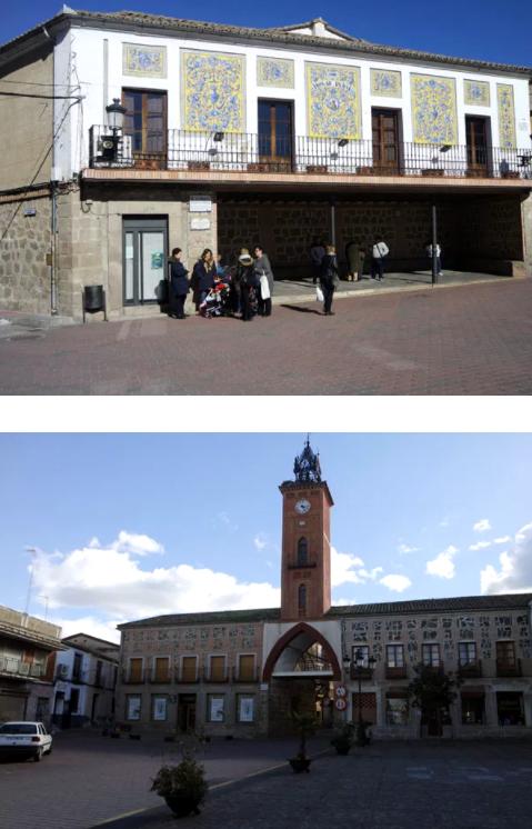Biblioteca Popular y Torre del Reloj