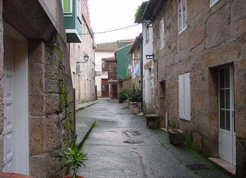 Cambados calles