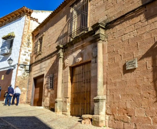 Casa Palacio de los Molina de la Cerda Baños de la Encina - Jaén