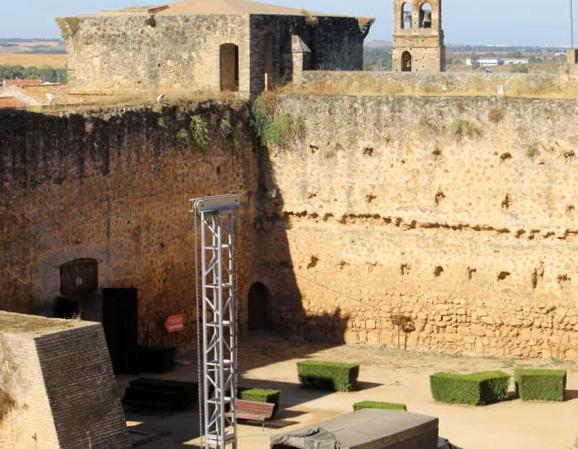 Castillo de los Guzmanes en Niebla - Huelva