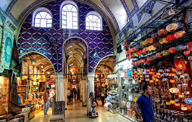 El-Gran-Bazar-de-Estambul