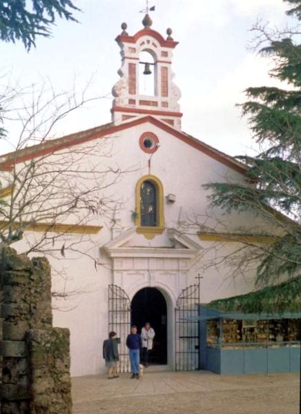 Ermita Nuestra Señora de los Ángeles en Alájar - Huelva