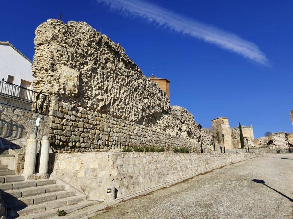 muralla escalona