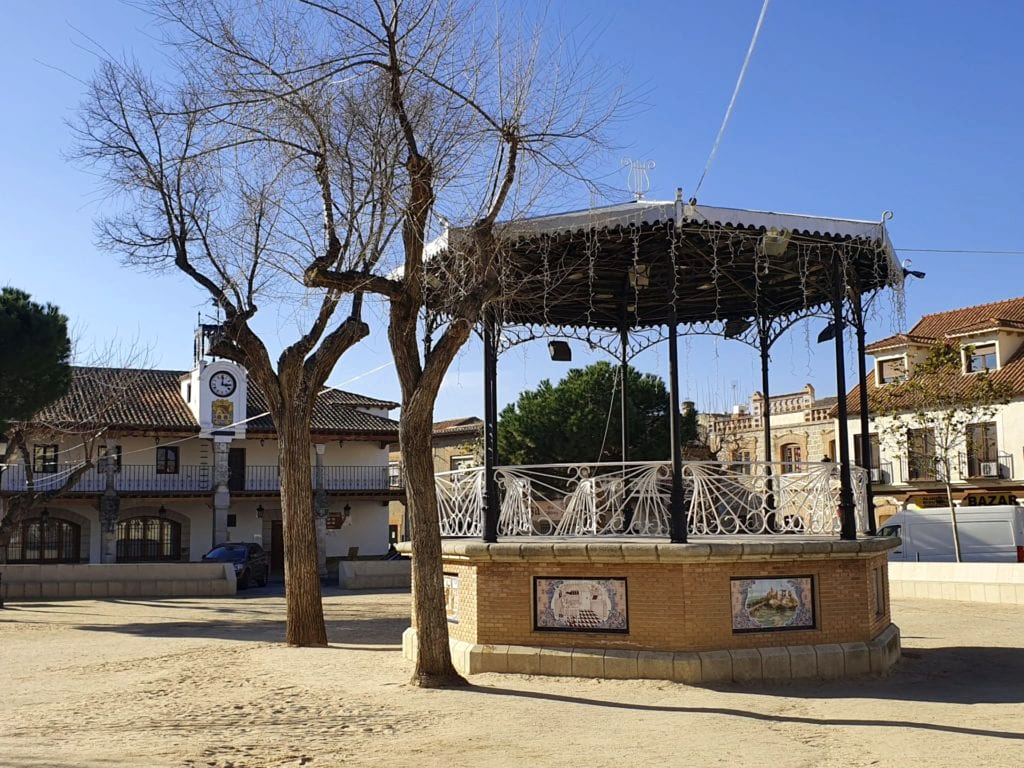 plaza de escalona