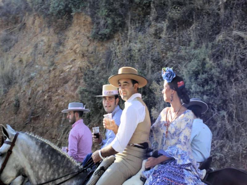 Fiestas Alájar - Huelva