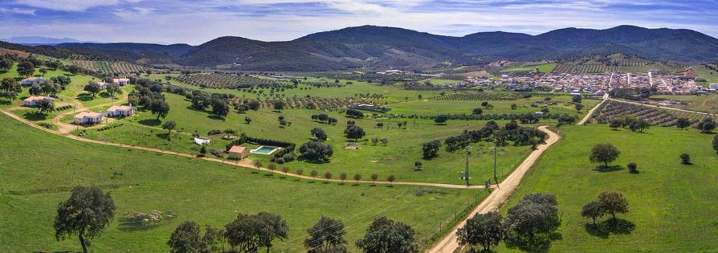 Campos de cultivo en Aldeaquemada - Jaén