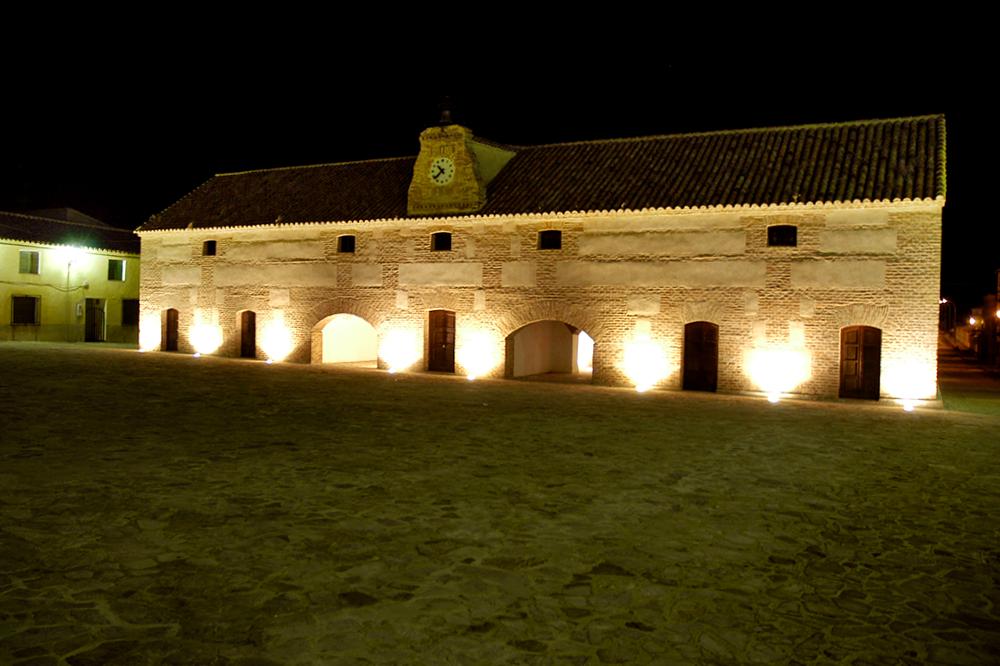 de noche en Aldeaquemada - Jaén