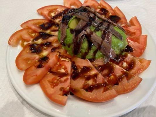 Tomates con Anchoas Casares - Málaga