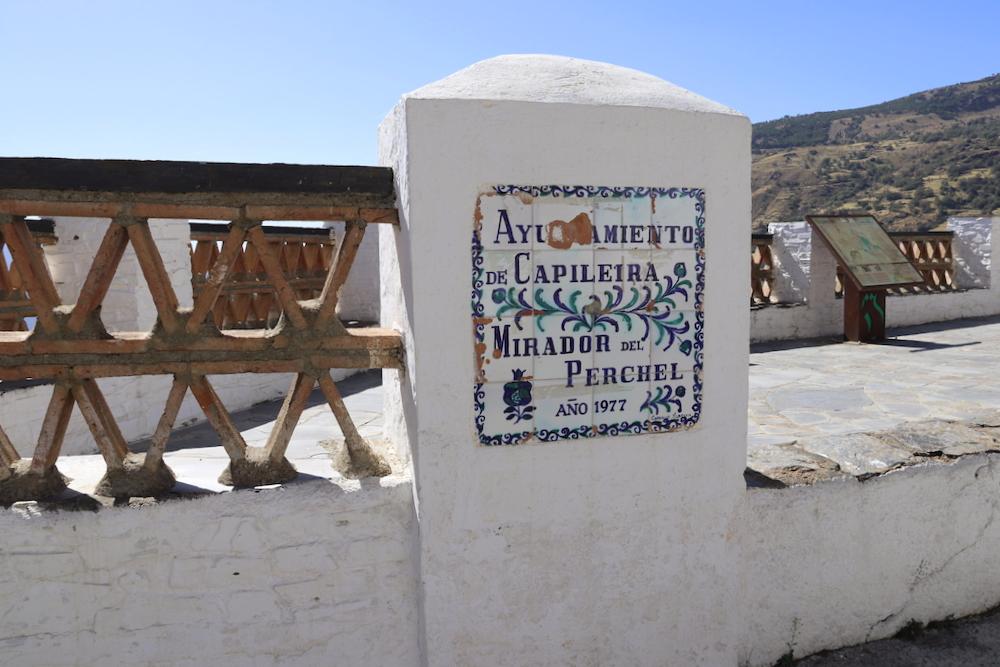 Ruta de los Miradores en Capileira - Granada