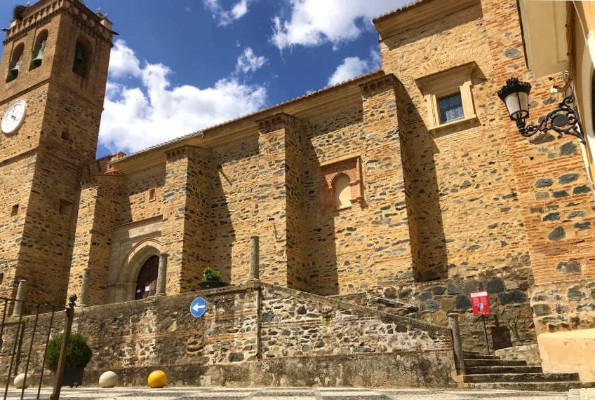 Iglesia de San Martín en Almonaster la Real - Huelva