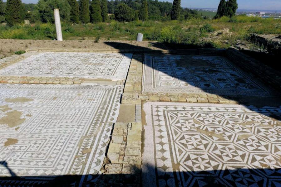 Mosaico Santiponce - Sevilla