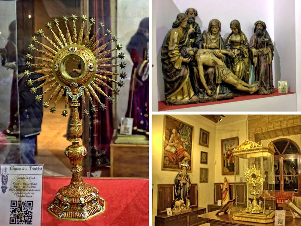 grupo del llanto sobre el cristo muerto-Custodia de Coral-Cajonera Plateresca