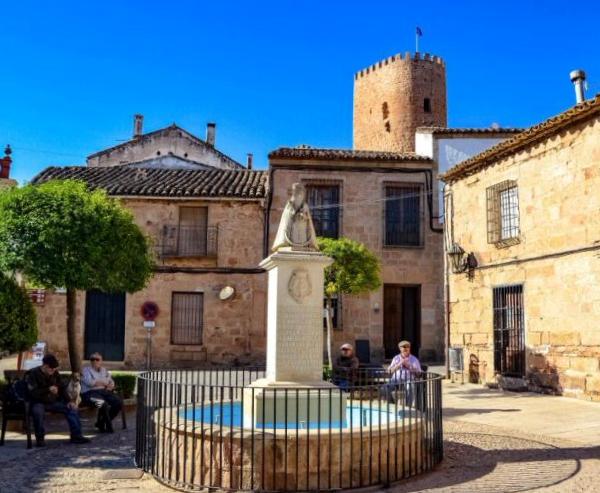Plaza de la Constitución Baños de la Encina - Jaén
