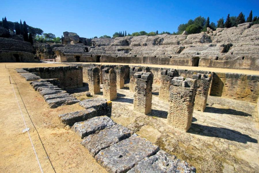 Ruinas Romanas de Santiponce - Sevilla