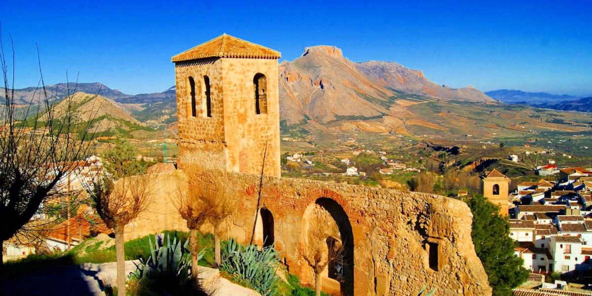 Panorámica del Castillo de Vélez-Blanco - Almería