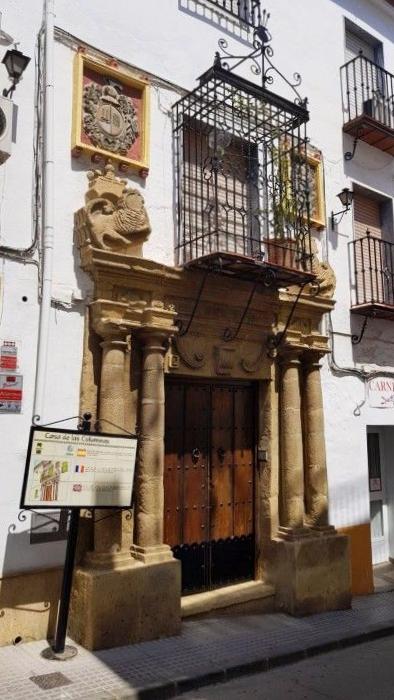 Casa de las Columnas Iznájar - Córdoba