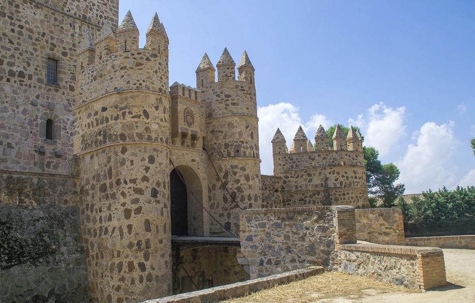 castillo entrada