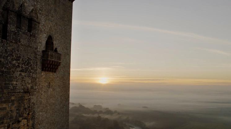 Atardecer Castillo Almodóvar del Río - Córdoba