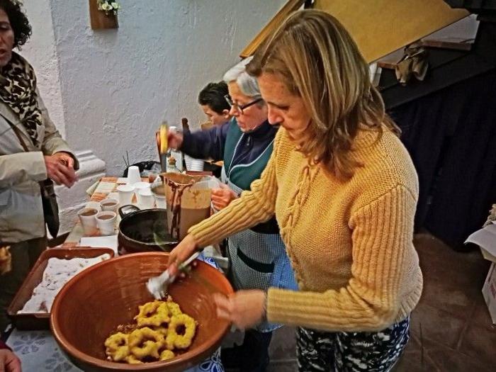 Buñuelada en la Iglesia de San Juan Grazalema - Cádiz