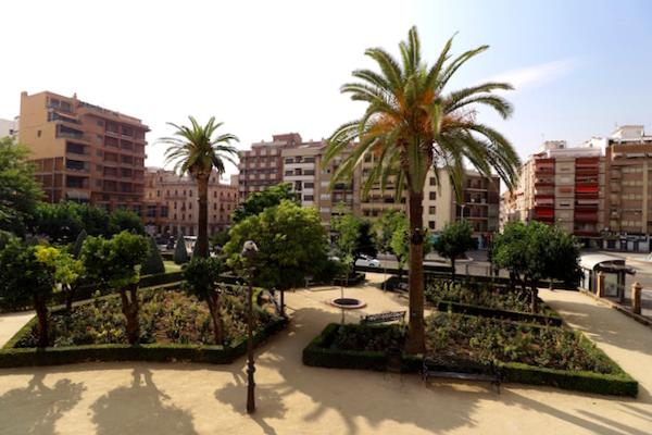 Jardines de santa Margarita Linares - Jaén