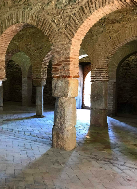 Interior de la Mezquita de Almonaster la Real - Huelva