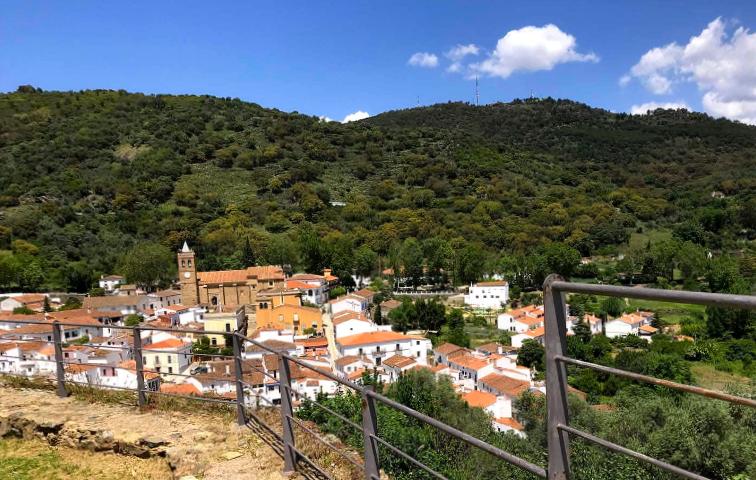 Mirador de Almonaster la Real - Huelva