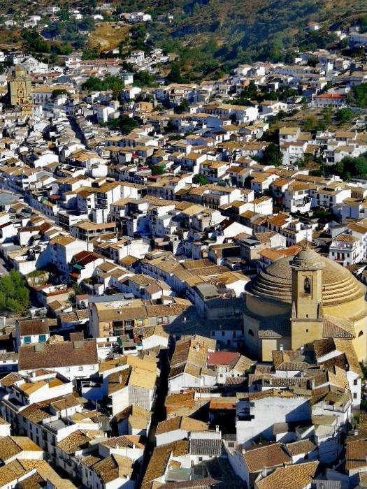 Vistas a Montefrío - Granada