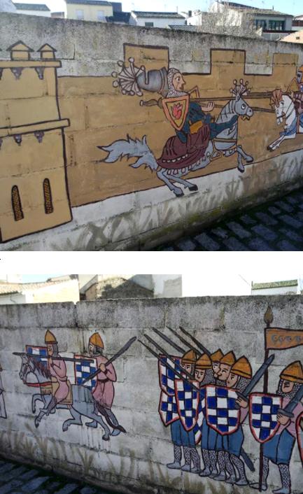 murales medievales de oropesa