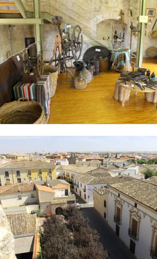 museo etnologico y vistas desde la torre