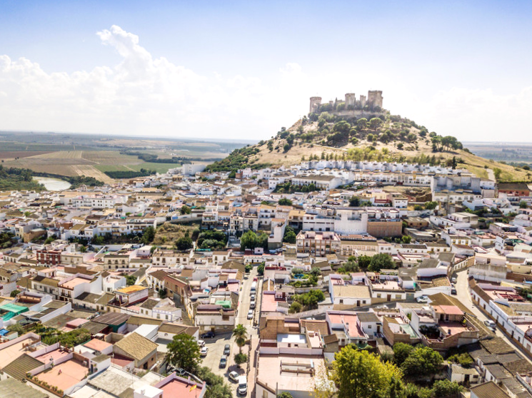 Vista panorámica Almodóvar del Río - Córdoba