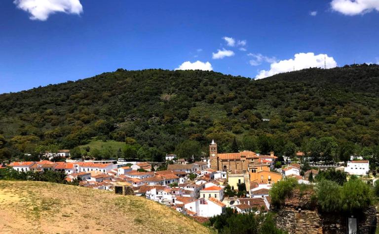 Vista Panorámica de Almonaster la Real - Huelva