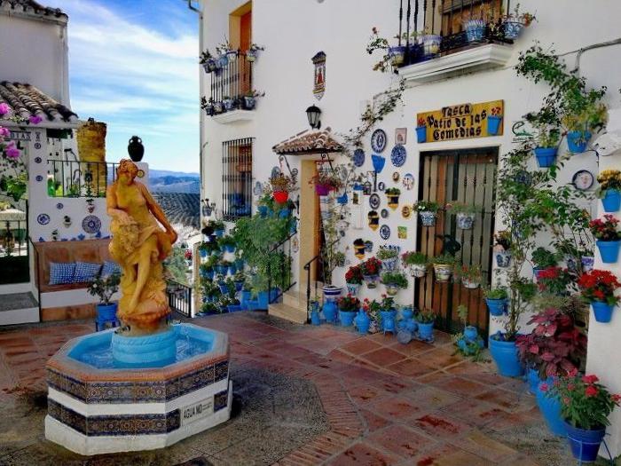 Patio de Comedias de Iznájar - Córdoba
