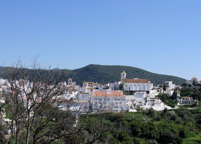 Panorámica Sedella - Málaga