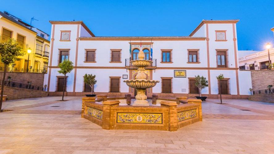 Plaza Palos de la Frontera - Huelva