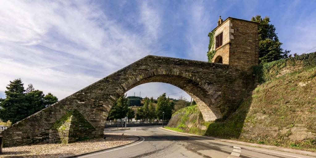 Escalinata de las Nieves Portomarín - Lugo