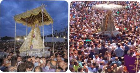 Procesión Virgen del Rocío - Huelva