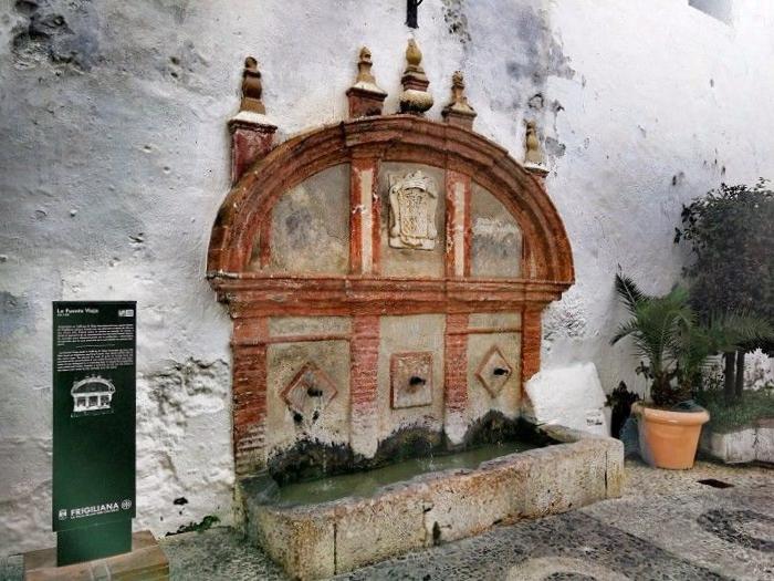 Fuente de las 3 Culturas Frigiliana - Málaga