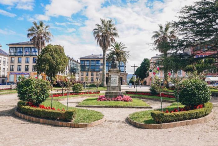 Plaza España en Ribadeo - Lugo
