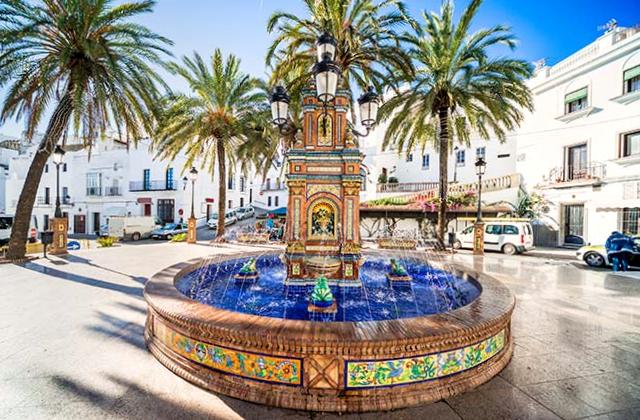 Fuente Plaza España Vejer de la Frontera - Cádiz
