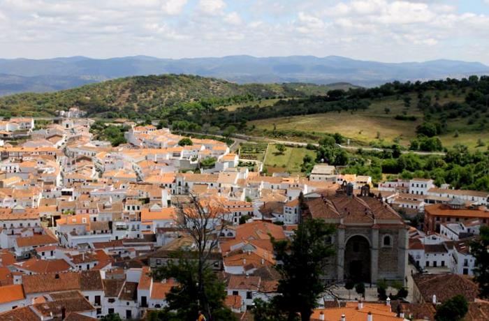 Vista Panorámica de Aracena - Huelva